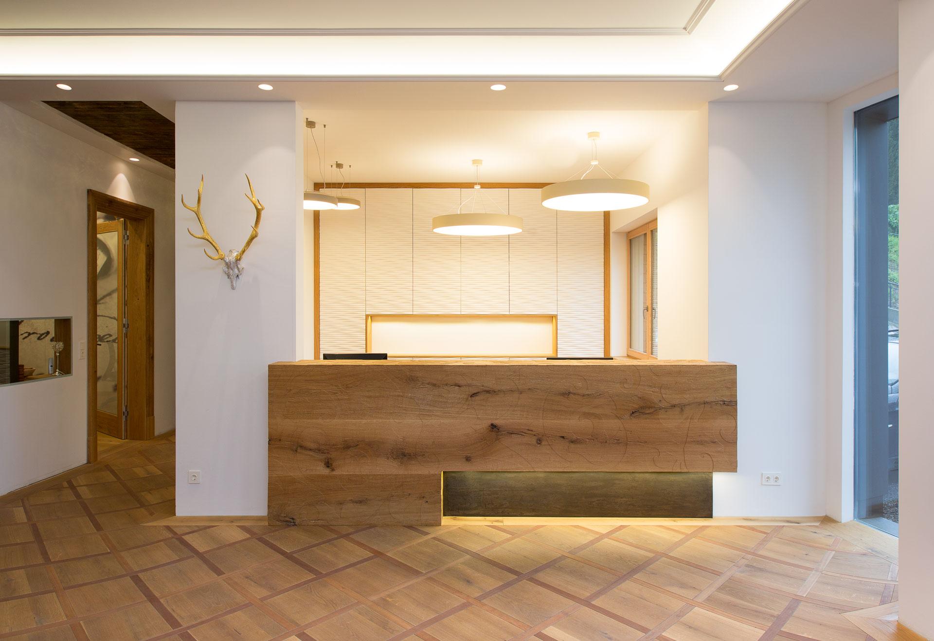 Tischlerei-Decker-Eingangsbereich