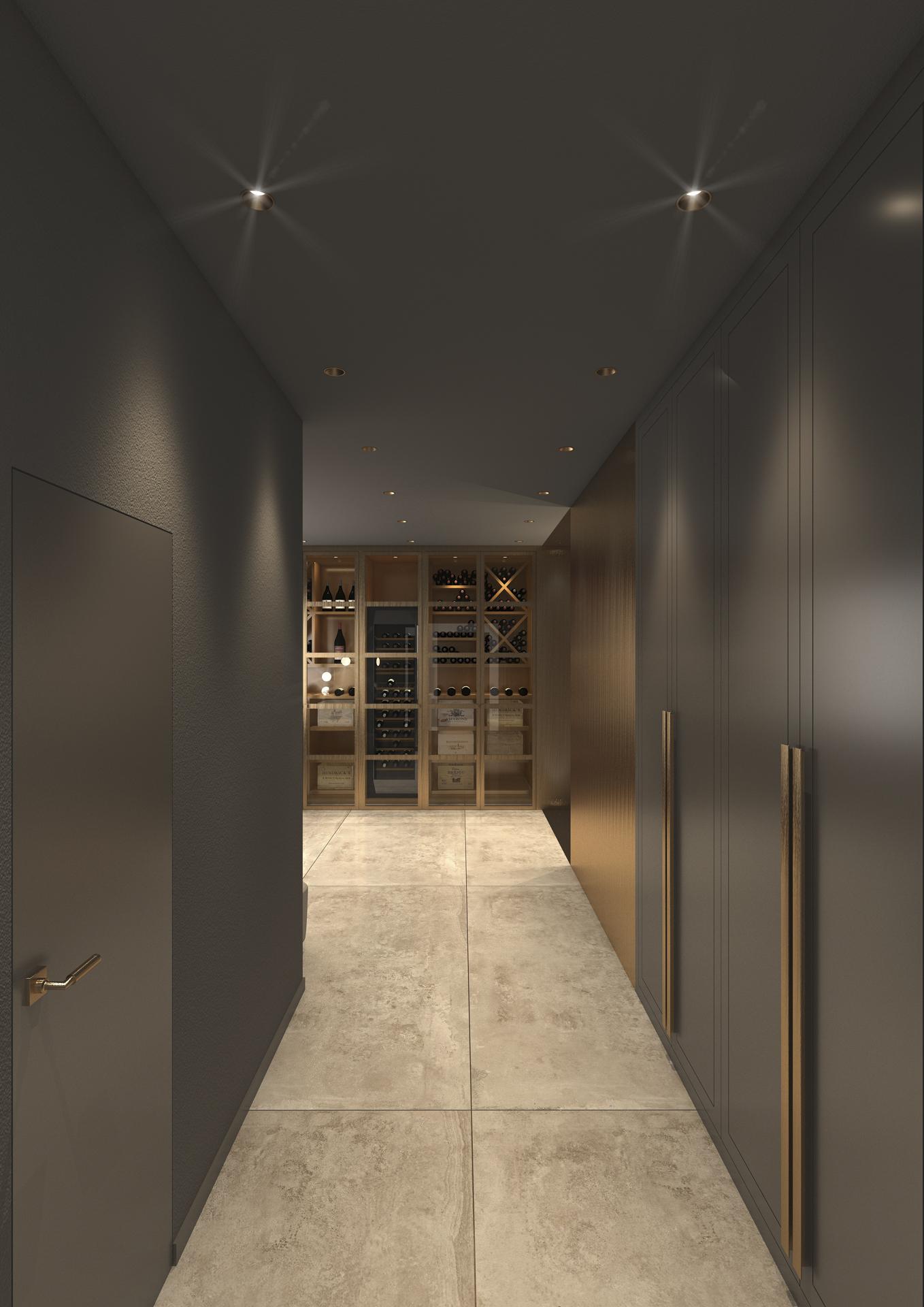 tischlerei-decker-visualisierungen-Garderobe-Weinraum